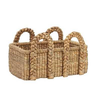 Beachcomber Low Rectangular Basket - Pottery Barn