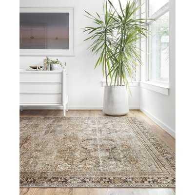 Giacinto Olive/Charcoal Area Rug - Wayfair