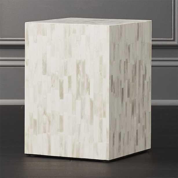 Quad Bone Inlay Side Table - CB2