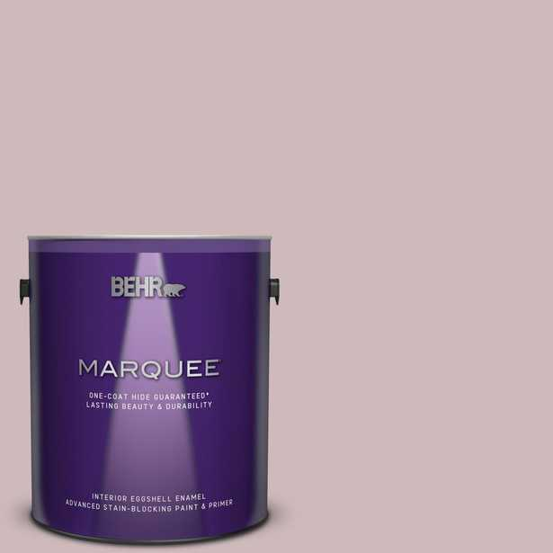 BEHR MARQUEE 1 gal. #N120-3 Mauve It Eggshell Enamel Interior Paint and Primer in One - Home Depot