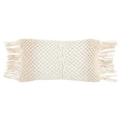 Eynesil Decorative Cotton Lumbar Pillow - AllModern