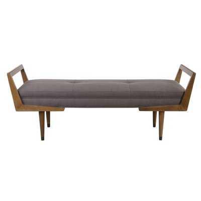 Alessandro Mid-Century Upholstered Bench - Wayfair