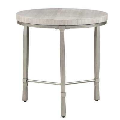Alexys Round End Table - Wayfair