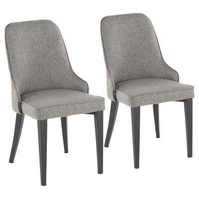 Los Santos Upholstered Dining Chair (Set of 2) - Wayfair