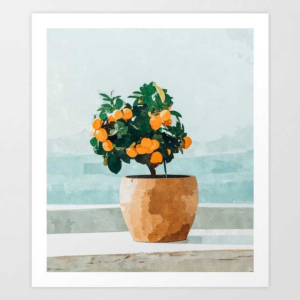 Orange Tree Art Print - Large by 83Oranges - Society6