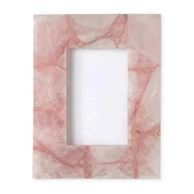 """Rose Quartz Frame, 4"""" X 6"""" - Williams Sonoma"""