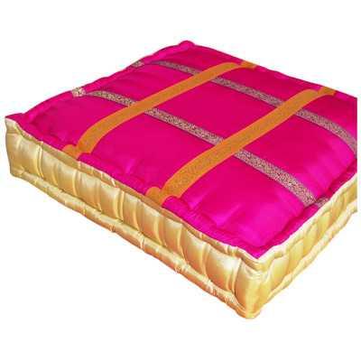 Larbi 100% Cotton Floor Pillow - Wayfair