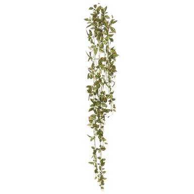 Artificial Wandering Jew Hanging Bush Ivy Plant - Wayfair