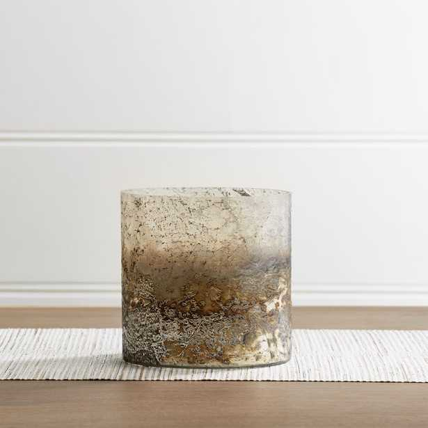"""Sona 6.5"""" Glass Hurricane Candle Holder - Crate and Barrel"""