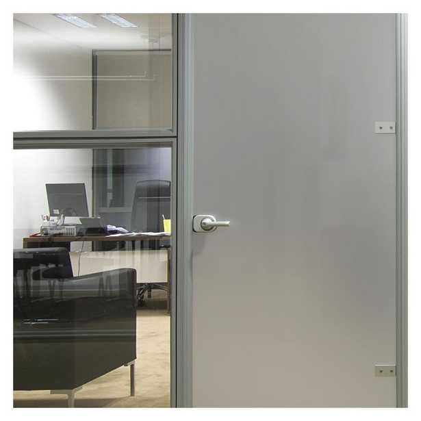 BuyDecorativeFilm 36 in. x 12 ft. Mtsil Silver Matte Frosted Privacy Window Film - Home Depot