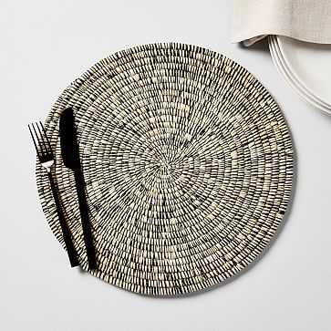 Natural Woven Charger - West Elm