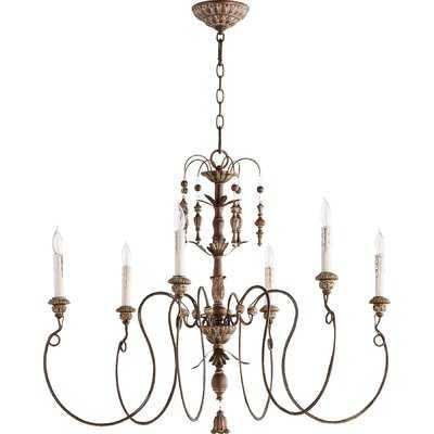 Paladino 6-Light Candle-Style Chandelier - Wayfair