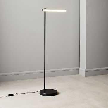 Light Rods LED Reader Floor Lamp, Dark Bronze - West Elm
