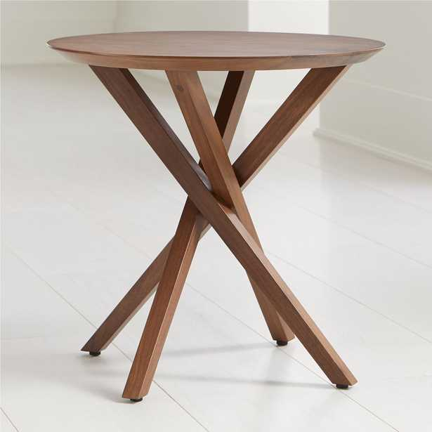 Apex Round End Table - Crate and Barrel
