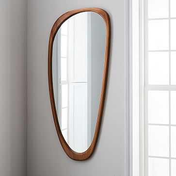 Mid-Century Asymmetrical wall/floor Mirror - West Elm