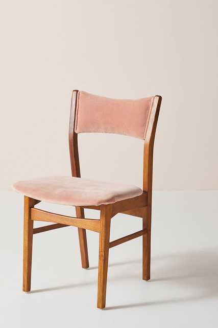 Velvet January Chair - Anthropologie