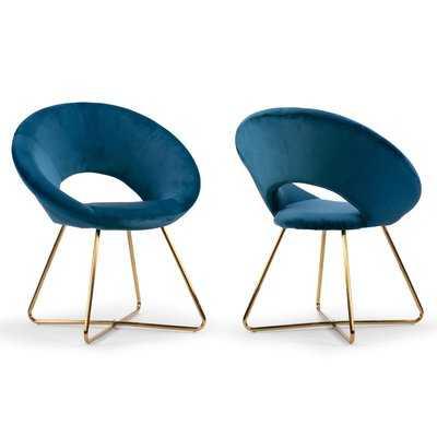 Guevara Upholstered Dining Chair (set of 2) - Wayfair