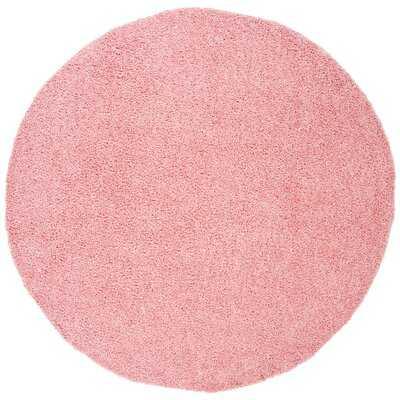 Schwanke Shag Pink Area Rug - Wayfair