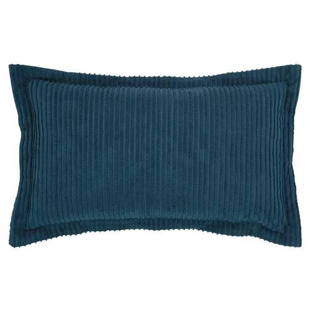 20 in. x 36 in. Aspen Teal (Blue) Sham - Home Depot