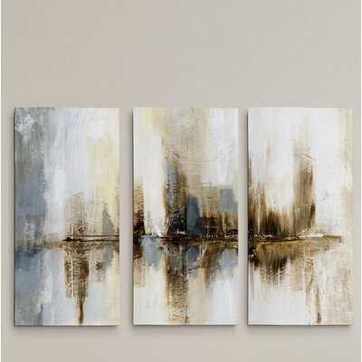 A Premium 'Harbor Lights' Print Multi-Piece Image on Canvas - Wayfair