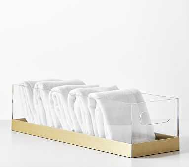 Acrylic & Metallic Table Storage - Pottery Barn Kids
