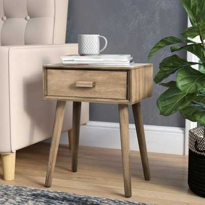 Audrick End Table With Storage - Wayfair