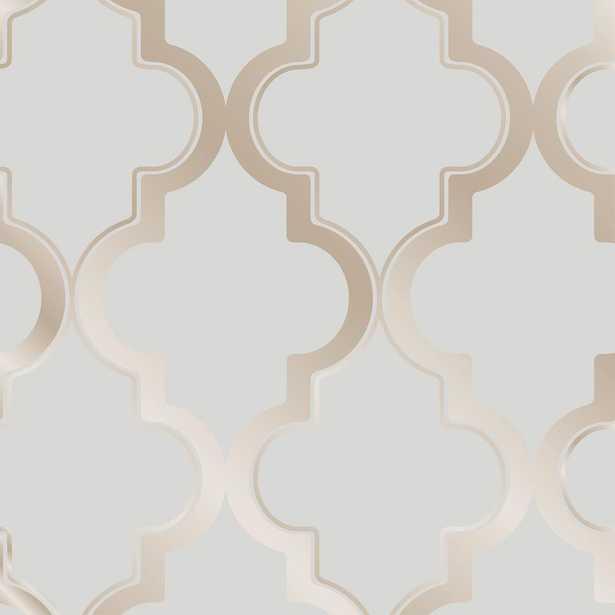 Tempaper Marrakesh Bronze Gray Self-Adhesive, Removable Wallpaper - Home Depot