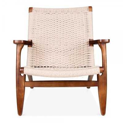 Wood Armchair (walnut) - Wayfair