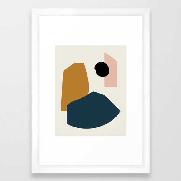 Shape study #1 - Lola Collection Framed Art Print by Mpgmb - Society6