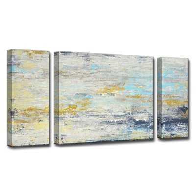 'Surf and Sound I/II/III' Multi-Piece Print Set on Canvas - Birch Lane