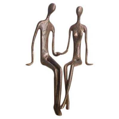 Alta Sitting Couple Figurine - Wayfair