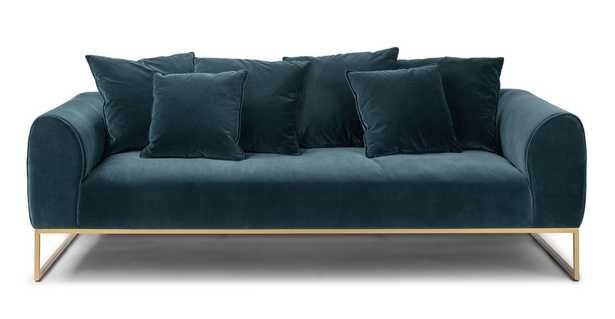 Kits Pacific Blue Sofa - Article