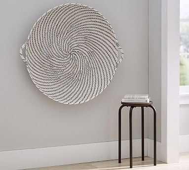 Hapao Black and White Basket Wall Art - Pottery Barn