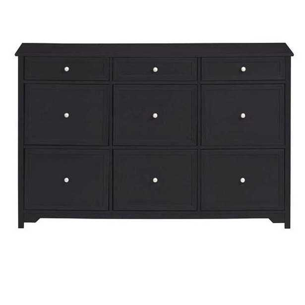 Oxford Black Chest - Home Depot