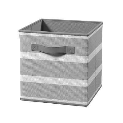 Cubeicals Stripe Fabric Cube - Wayfair