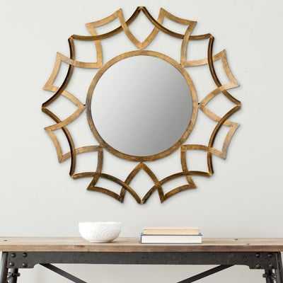 Collie Wall Mirror - Wayfair