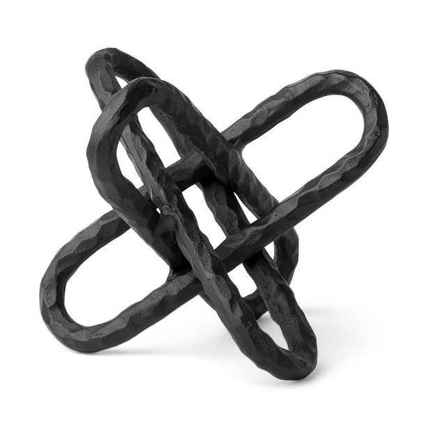 Mercana Wilhelm II Black L Decorative Object, Matte Black - Home Depot