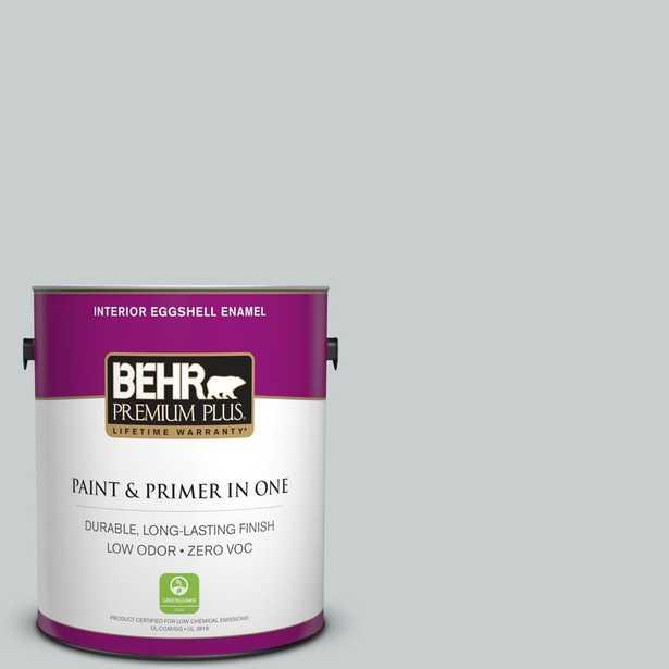 BEHR Premium Plus 1 gal. #720E-2 Light French Gray Eggshell Enamel Zero VOC Interior Paint and Primer in One, Grays - Home Depot