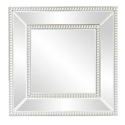 Mirrored Frame Wall Mirror - Wayfair
