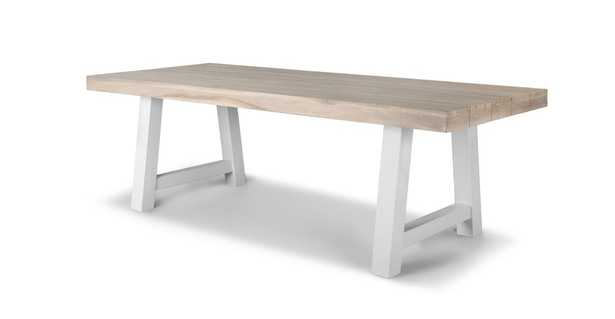 Tavola Driftwood Gray Dining Table for 8 - Article