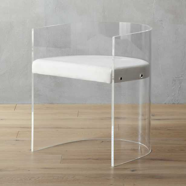antonio acrylic chair - CB2