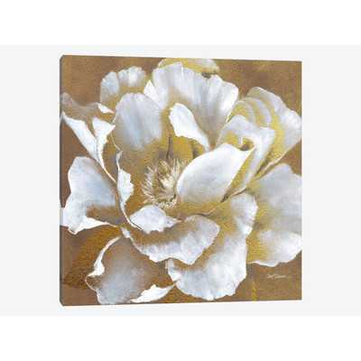 Golden Bloom II Painting Print on Wrapped Canvas - Wayfair