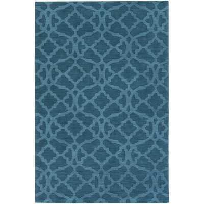 Dylan Hand-Woven Electric Blue Area Rug - Wayfair