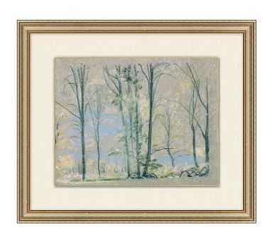 Tree Pastel Framed Painting - Pottery Barn