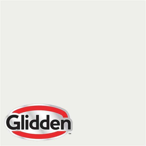 Glidden Premium 8 oz. #HDGWN56 Swan White Flat Interior Paint Sample - Home Depot