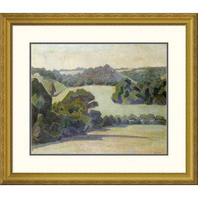 'West Country Landscape' by Robert Bevan Framed Painting Print - Wayfair