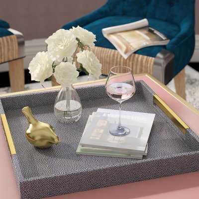 Beck Ottoman/Coffee Table Tray - Birch Lane