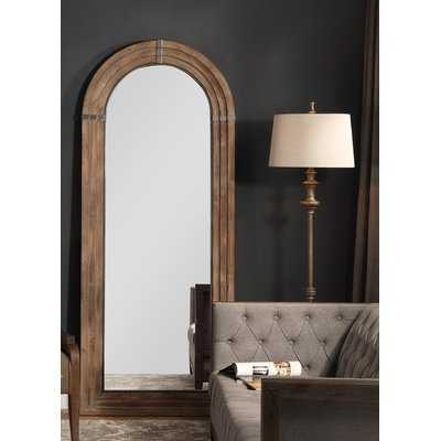 Sasha Wooden Arch Full Length Mirror - Wayfair