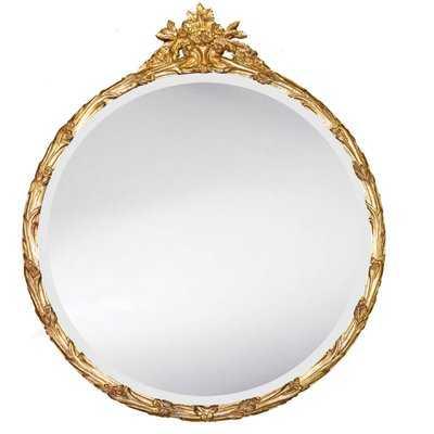 Haddix Flower Basket Accent Mirror - Wayfair