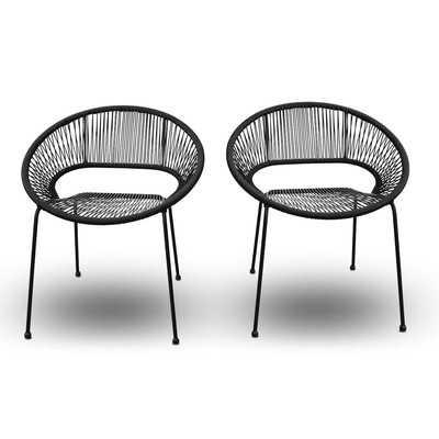 Ehrlich Stacking Patio Dining Chair - AllModern